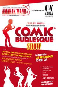 Cartolina Spettacolo Amarak'mand - Ca'Vaina 06-2016